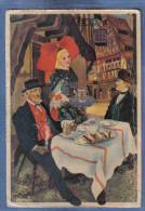 Carte Postale Illustrateur Homualk  Jeune Fille Et Homme De Geisposheim Trés Beau Plan - Homualk