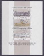 DUITSLAND Bundespost - 1986 - BL 19 Of Nrs 1119,1120 En 1121 - Yvert & Tellier - * - Oblitérés