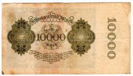 ALLEMAGNE, Billet De Banque République De Weimar - Reichsbanknote  Type 1922 - 10 000 Mark - [ 3] 1918-1933 : République De Weimar