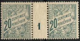 Tunisie (1900) Millesime 1 Taxe N°30 * (charniere) - Tunisie (1888-1955)