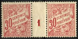 Tunisie (1900) Millesime 1 Taxe N°31 * (charniere) - Tunisie (1888-1955)