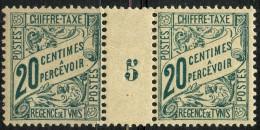 Tunisie (1900) Millesime 5 Taxe N°30 * (charniere) - Tunisie (1888-1955)
