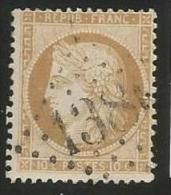 France - Cérès Siège De Paris - N°36 Bistre - Obl. GC 1386 ELBOEUF