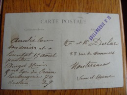Franchise FM Esc Du Train Boulangerie De Campagne 14-18  N°70 - Poststempel (Briefe)