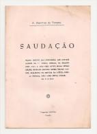 Guarda - Saudação Por A. Monteiro Da Fonseca - Books, Magazines, Comics