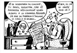 CP Franck MARGERIN / Le DENIS TWIST, Librairie Ailleurs à Toulouse, 1986 / TBE Et RARISSIME ! - Cartes Postales