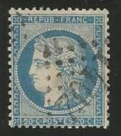 France - Cérès Siège De Paris - N°37 Bleu - Obl. GC 1402 EPINAL