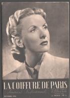 La COIFFURE De PARIS - Octobre 1946 - Journal Professionnel  - Chignon Postiche, Coiffure Dessus Plat, Nuque Ornée... - Books, Magazines, Comics