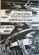 CP Bourse BD Ramonville 1987 : LES PIEDS-NOIRS DE L'ESPACE / TBE Et RARE ! - Cartes Postales