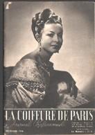 La COIFFURE De PARIS - Décembre 1946 - Journal Professionnel  - Concours Bruxelles, Coiffure Départ Plat, Vaguée - Books, Magazines, Comics