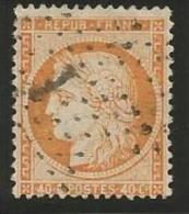 France - Cérès Siège De Paris - N°38 Orange - Obl. étoile De Paris Bureau 1