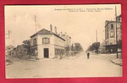 78-Croisy Sur Seine-Rond Point,rue Des Gabillons,avenue Du Vésinet ,avenue Carnot-cpa  Animée - Croissy-sur-Seine