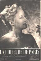 """La COIFFURE De PARIS - Février 1947 - Journal Professionnel  - Coiffure """"Hollywood"""", Pour L'après-midi - Books, Magazines, Comics"""