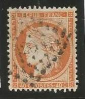France - Cérès Siège De Paris - N°38 Orange - Obl. Losange Petits Chiffres