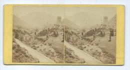 Vues Stéréoscopiques Photo Sur Carton - Castel-Vieil Et Luchon - Photos Stéréoscopiques