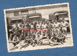Photo Ancienne - Groupe De Militaires Du 60e SRIAP - Mai 1961 - Camion - Parachutiste Para - RARE - Guerre, Militaire