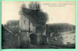 22 DINAN - Porte St-Malo Et Vieille Enceinte Des Fortifications - Dinan