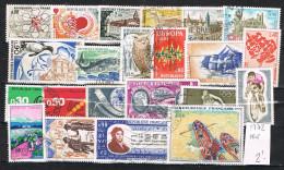R 712. Lote De Sellos FRANCIA Año 1972 º - Francia