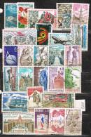 R 713. Lote De Sellos FRANCIA Año 1973 º - Francia