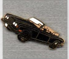 Pin´s  Automobile  Noire  Verso  BENTLEY  CONTINENTAL - Pin's