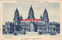 Cambodge Exposition Coloniale Internationale1931 Indochine 248 Temple D Angkor Vat Facade Principale