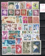 R 718. Lote De Sellos FRANCIA Año 1966 º - Francia