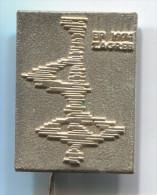 FIGURE SKATING - European Championship, 1974. Zagreb, Croatia, Metal, Pin, Badge, Dimension: 30x20mm - Skating (Figure)