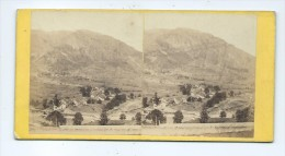 Vues Stéréoscopiques Photo Sur Carton - Vallée De Laruns - Stereoscoop