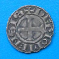 TRES BELLE QUALITE Auvergne Comté De Riom Alphonse Denier - 476-1789 Monnaies Seigneuriales