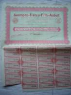 Action Gaumont Franco-film Aubert De 100 Francs Au Porteur 1927 - Cinéma & Théatre