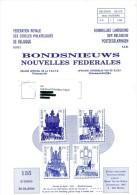 Nouvelles Fédérales - N° 135 - Année 2/200 - FR/NL - Sommaire En Scan 2. - Magazines: Abonnements