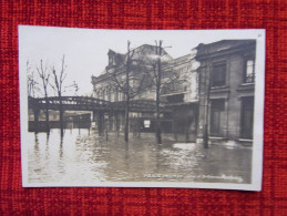 Cp Photo Paris Inondé 1910 Gare D´Orléans Austerlitz - Inondations De 1910