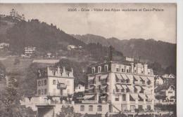 GLION-Hotel Des Alpes Vaudoises Et Caux-Palace - VD Vaud