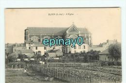 Bf - 44 - BLAIN - L'église Et Vue Sur Le Village - Blain