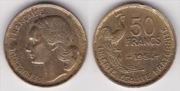 50 FRANCS GUIRAUD 1954 (voir Scan) - M. 50 Francs