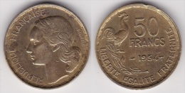 50 FRANCS GUIRAUD 1954 (voir Scan) - France