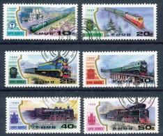 Korea-Nord  -  Mi.Nr.    3064 - 3069   -   Gestempelt - Korea (Nord-)