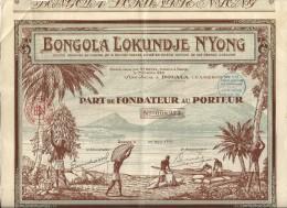 BONGOLA N'YONG . CAMEROUN - Afrique