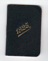 CALENDRIERS AGENDA PETIT FORMAT  CALENDRIER  MEMENTO BIJOUTIER-JOAILLER  F. Pernelle  Paris  1925  DIV  960 - Formato Piccolo : 1921-40