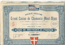 GRAND CASINO DE CHAMONIX MONT BLANC - Casino