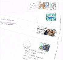ITALIA (ITALY) - STORIA POSTALE - 2000 LOTTO DI 4 LETTERE X INTERNO  - RIF.2680 - 1991-00: Poststempel