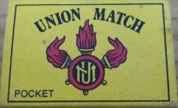 Boite D'allumettes Vide - Union Match - Boites D'allumettes