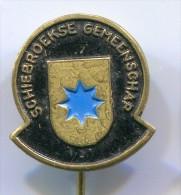 SCHIEBROEKSE GEMEENSCHAP - Netherlands, vintage pin, badge