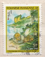 French Polinesia Used Stamp - Rodents