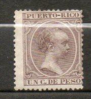 PORTO RICO Alfonso XIII 1894 N°106 - Puerto Rico