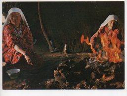 REF 186 CPSM AFGHANISTAN Bread Baking In The Afghan Pamirs - Afghanistan