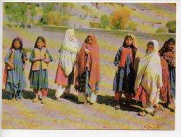 REF 186 CPSM AFGHANISTAN Bamiyan Village Girls - Afghanistan