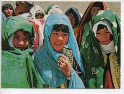 REF 186 CPSM AFGHANISTAN Hazara Village Girls - Afghanistan