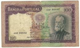 Portugal 100 Escudos 19/12/1961 - Portugal
