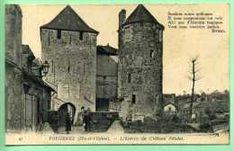 35 FOUGERES - L'entrée Du Chateau Féodal - Fougeres